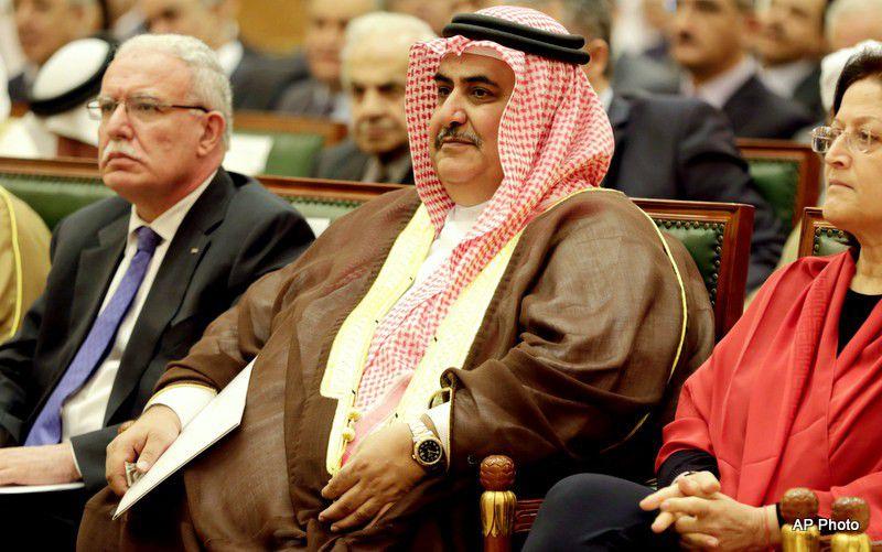 Riyad al-Maliki, Khalid bin Ahmad Al Khalifa, Sameera Rajab