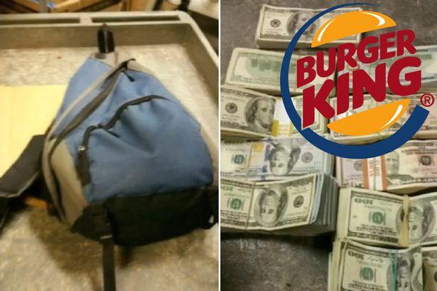 Man-finds-bag-full-of-100000-notes-in-Burger-King