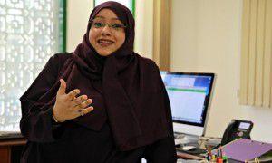 Somayya Jabarti, editor, Saudi Gazette