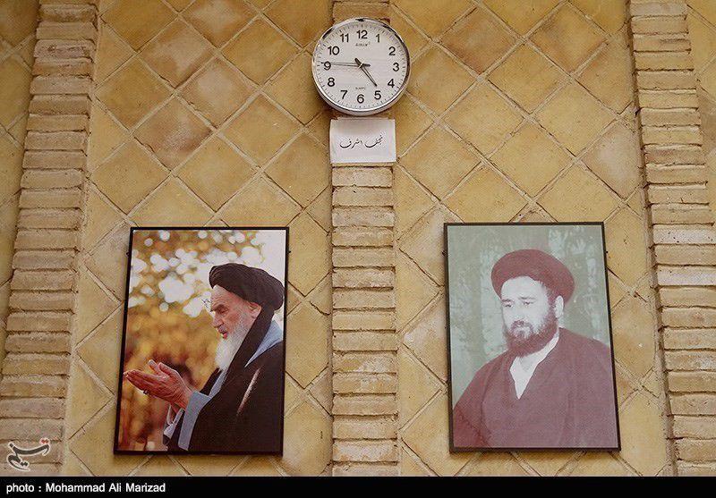 تصاویر زیبا از منزل امام خمینی (ره) در نجف اشرف