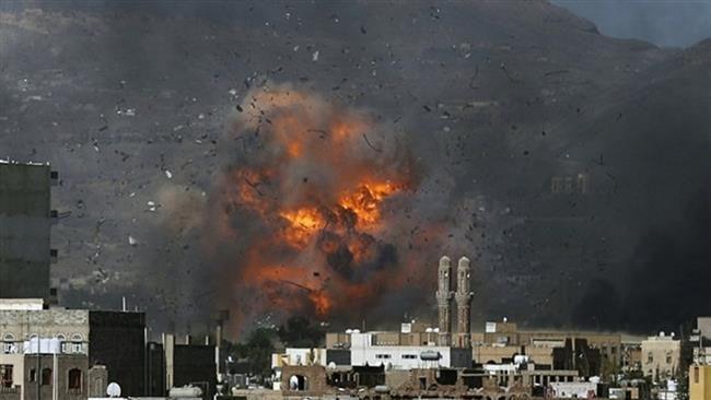 แฟ้มภาพ เครื่องบินรบซาอุฯ โจมตีกรุงซานา เมืองหลวงเยเมนทางอากาศอย่างรุนแรง