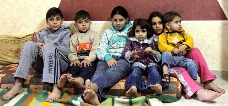 (ภาพ) รูปถ่ายลูกๆ ของอบูซีซีในกาซ่า