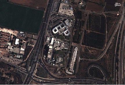 ภาพ : ภาพถ่ายทางอากาศ อาคารมอสสาดในแผ่นดินที่อิสราเอลได้ยึดครอง