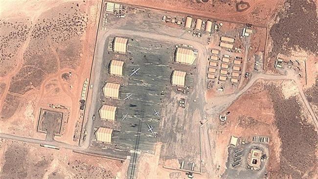 (แฟ้มภาพ ภาพถ่ายดาวเทียม สนามบินในทะเลทราย Chabelley จิบูติ เดือนตุลาคม ปี 2014 จาก Google Earth )