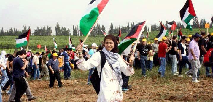 (ภาพ) ดารีน ตาตูรฺ ถูกหน่วยชิน เบ็ต ของอิสราเอลจับกุมเนื่องจากอ่านบทกวี (Photo : Facebook)