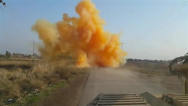 (แฟ้มภาพ ไอซิสใช้ระเบิดก๊าซคลอรีนในอิรัก)
