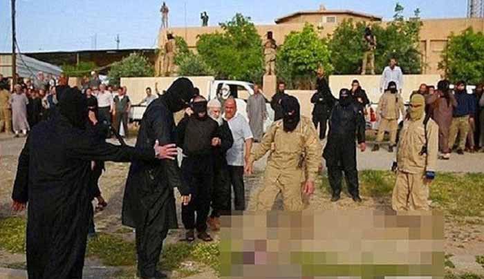 داعش 7 تن از نیروهای خود را آب پز کرد